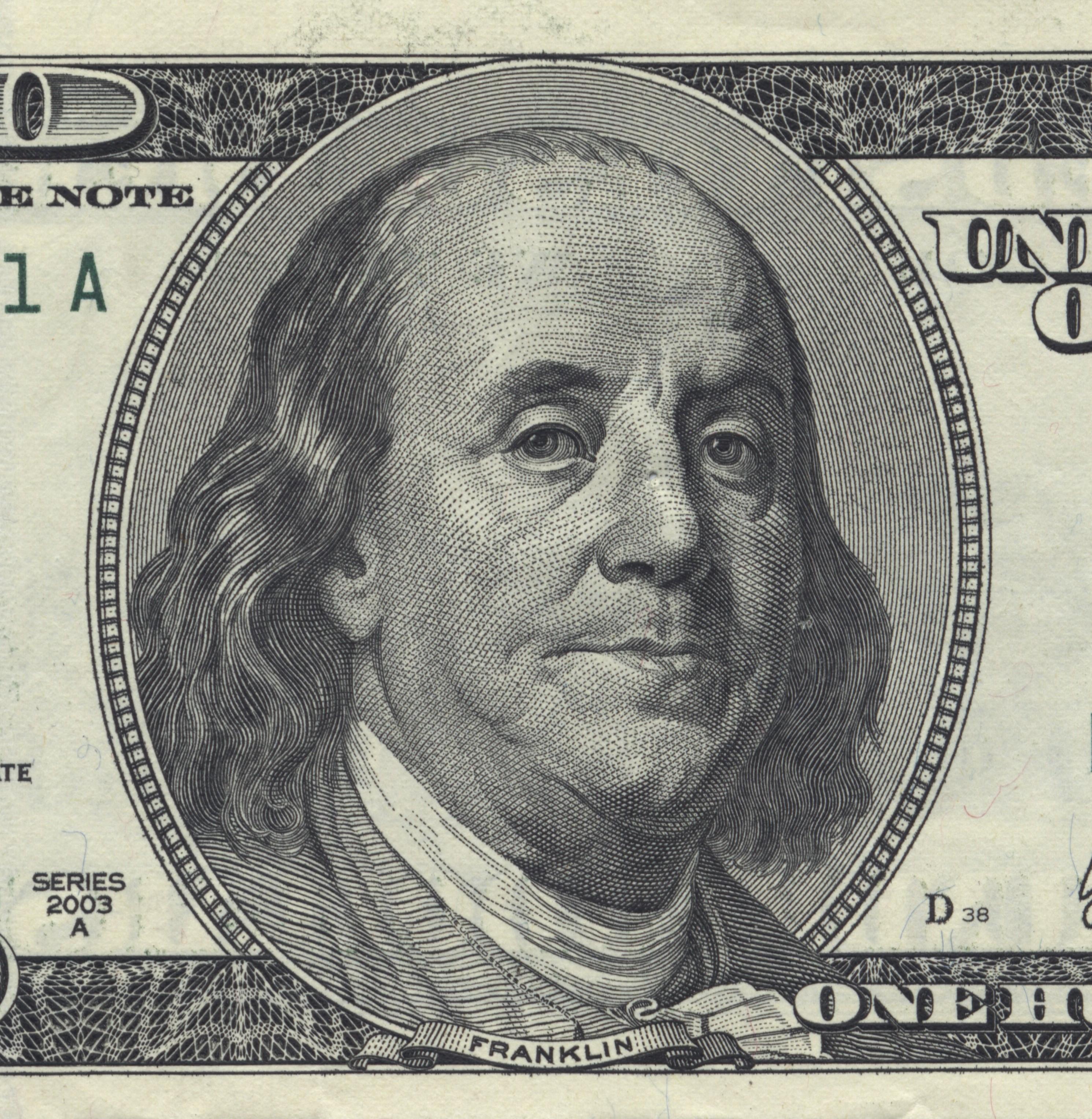 File Benjamin Franklin U S 100 Bill