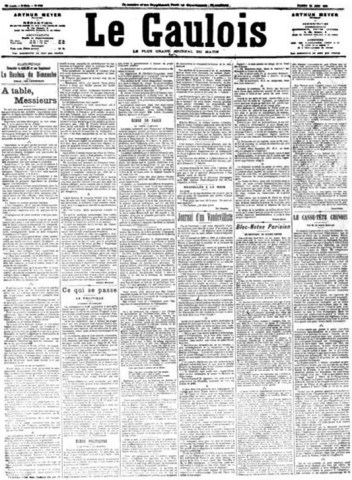 Le Gaulois newspaper