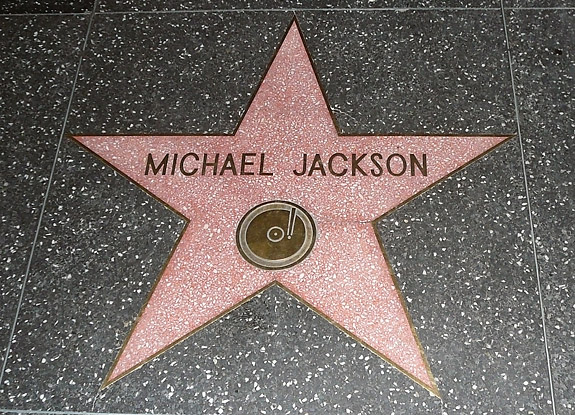 Michael Jackson al Walk of Fame