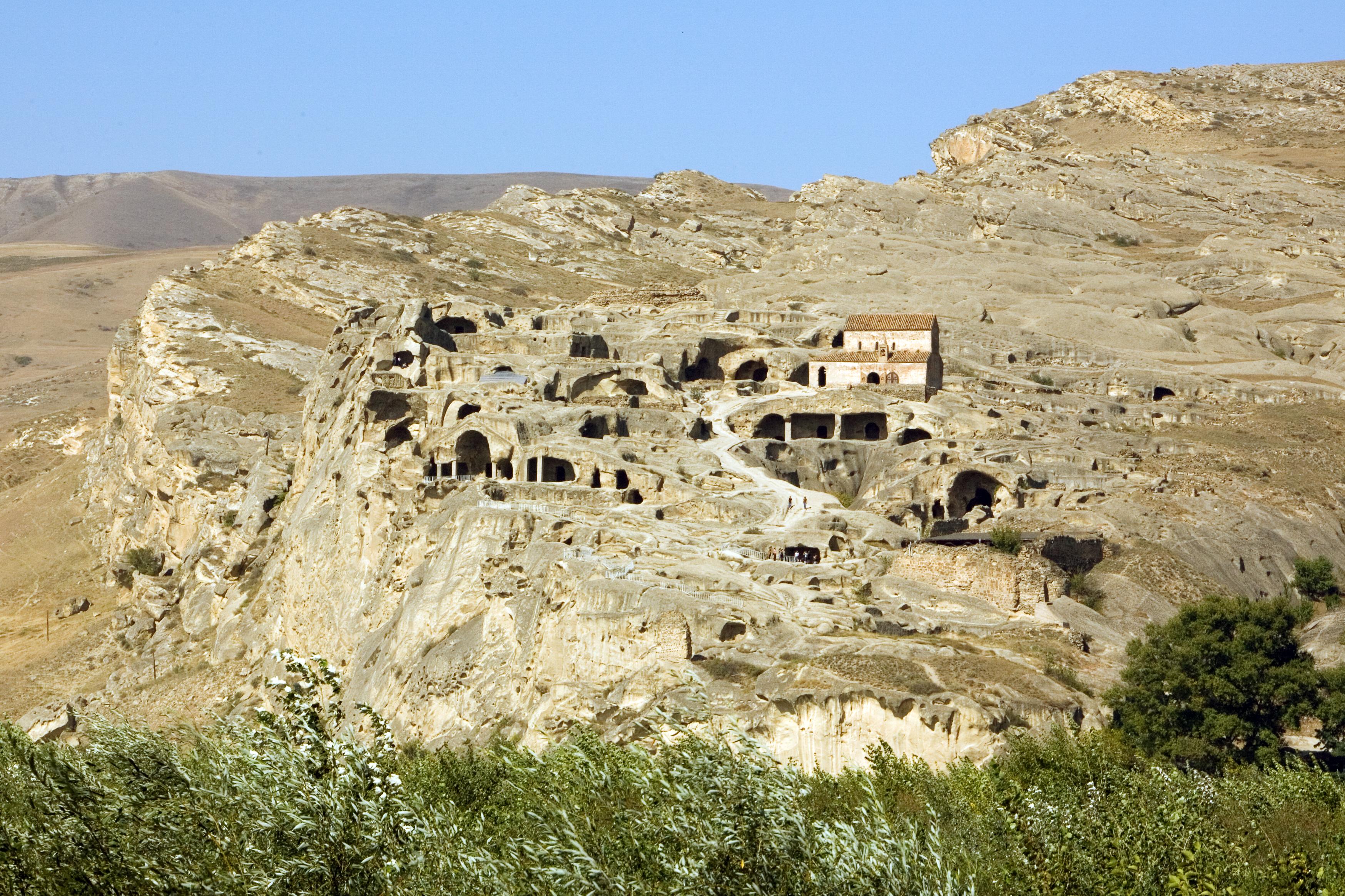 Uplistsikhe - Hauptstadt der Skythen im kaukasischen Iberia