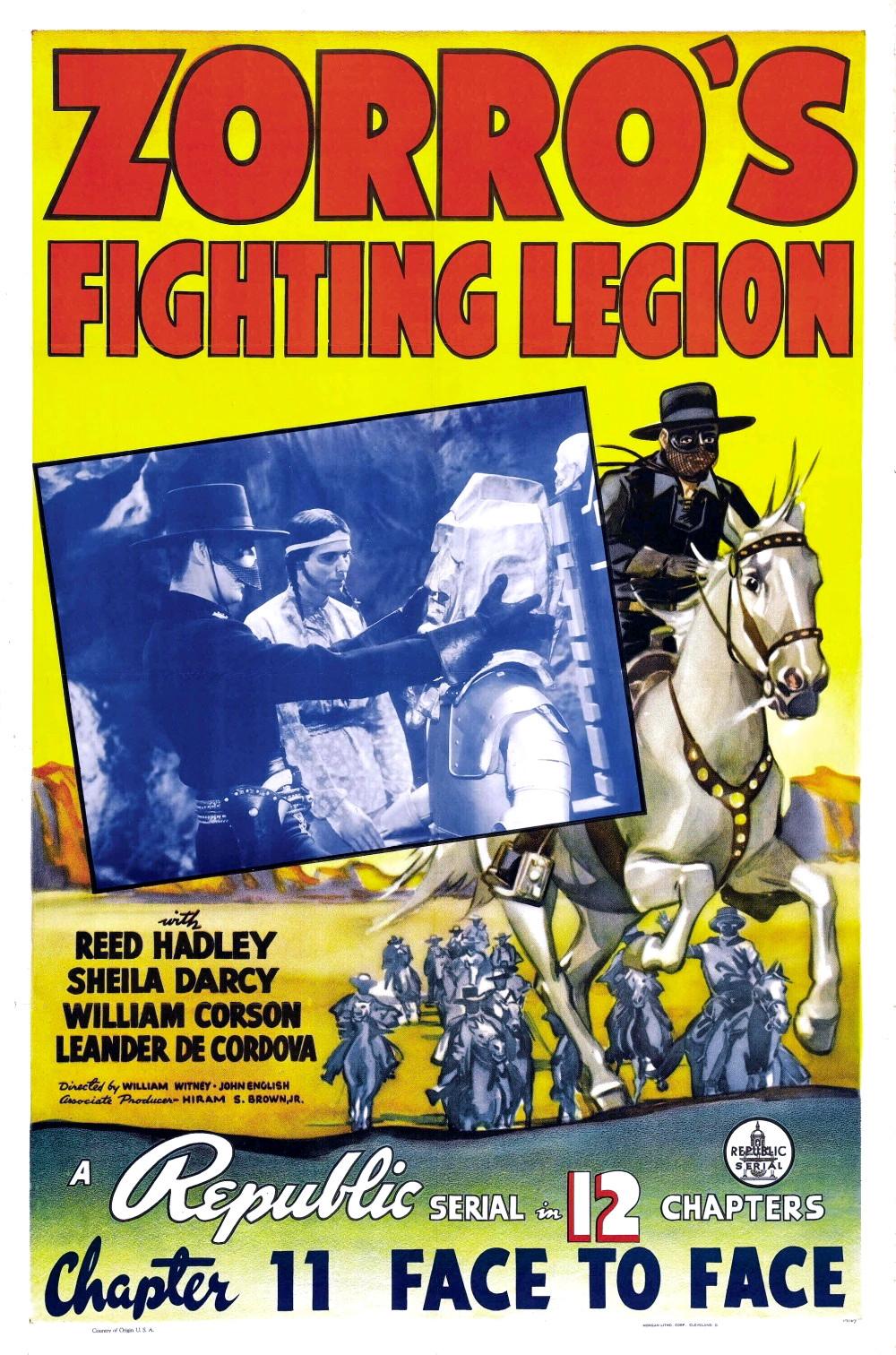 Zorros Fighting Legion  Wikipedia