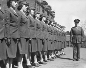 First group of Women Marine Officer Candidates 1943