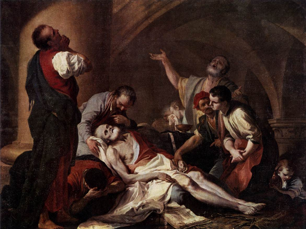The Death of Socrates by Giambettino Cignaroli (1706–1770)