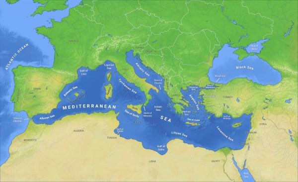 Mediterranean Sea - Wikipedia