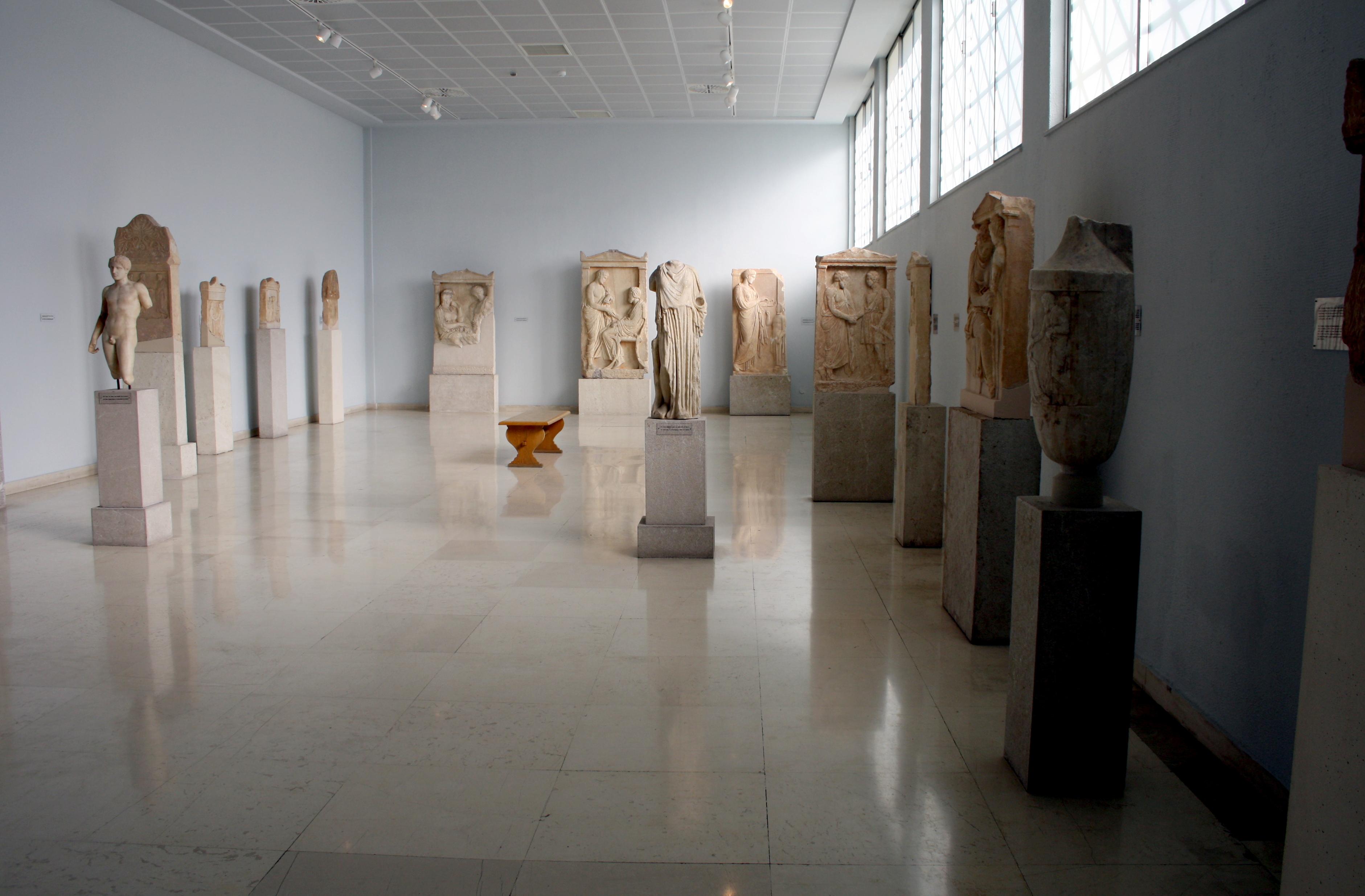 File7504  Piraeus Arch Museum Athens  1st floor room