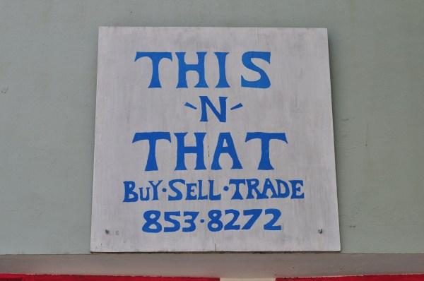 File Concrete Wa - Thrift Store Sign Wikimedia