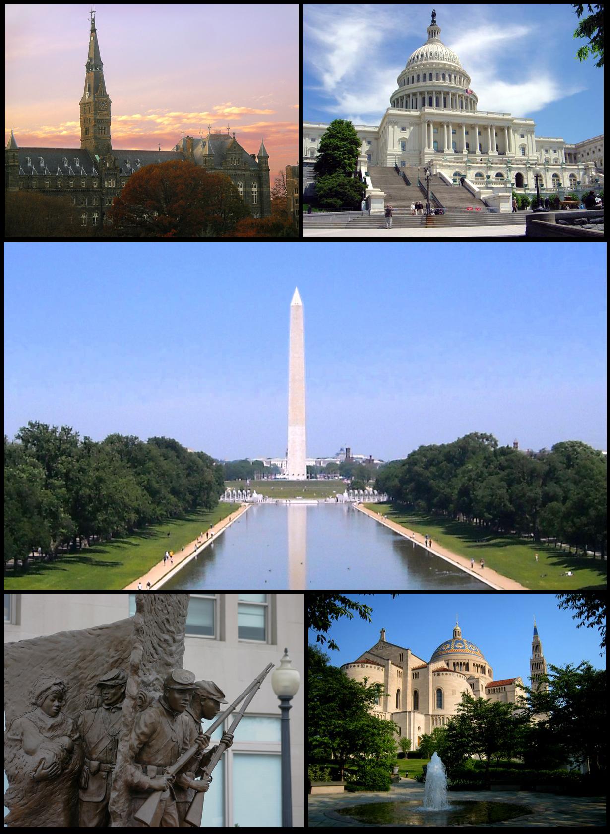 Washington D C  Wikipedia, La Enciclopedia Libre