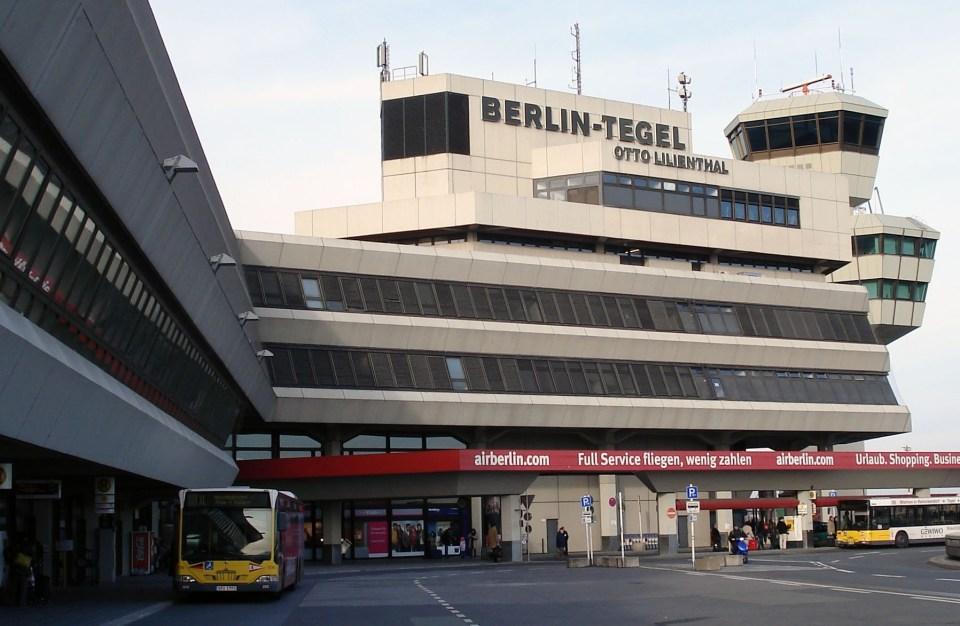 Aeropuerto de Berlín-Tegel - Wikipedia, la enciclopedia libre