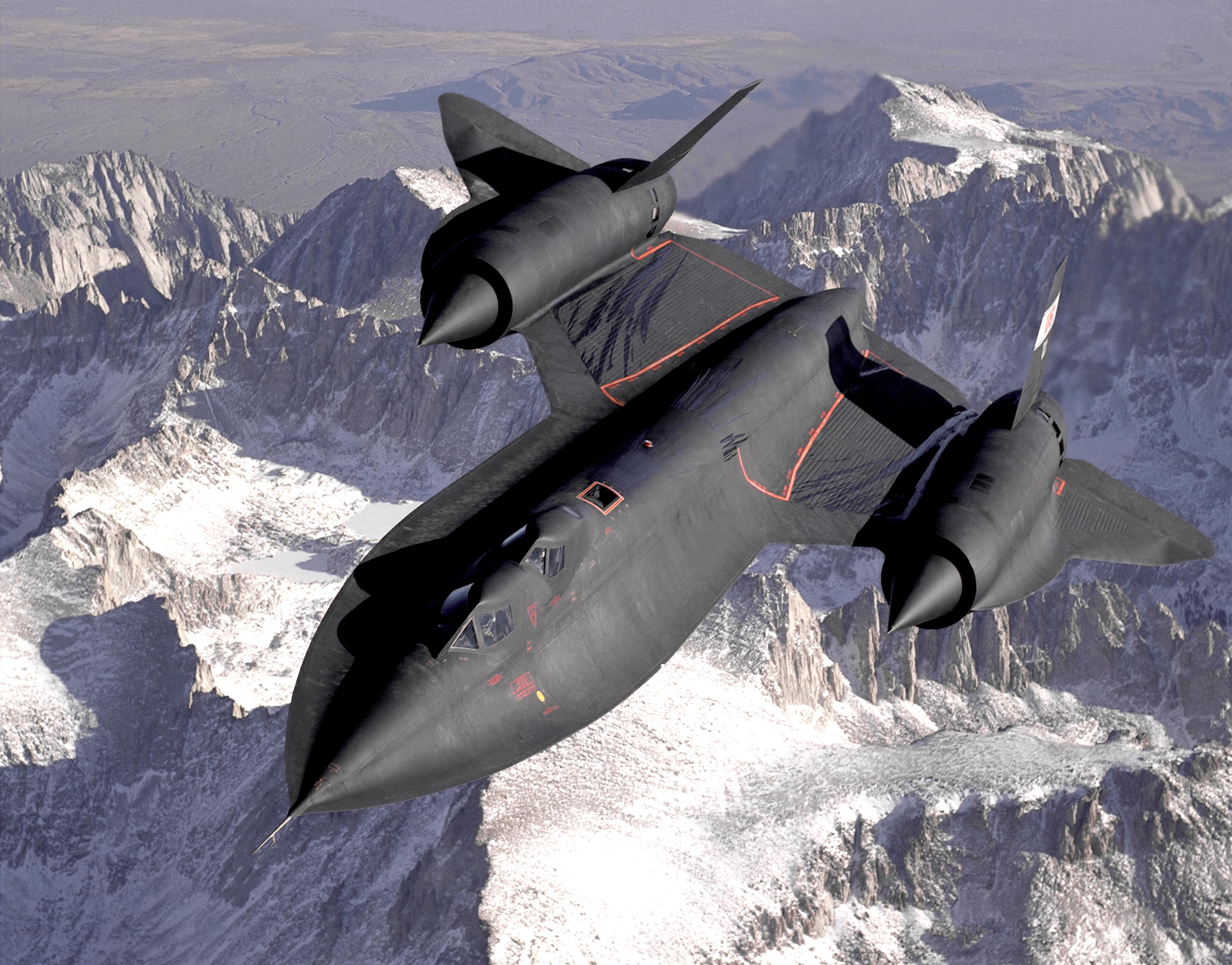 picture of SR-71 Blackbird
