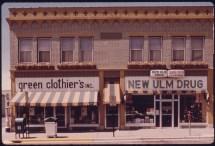 File Restored Older Building In Ulm Minnesota