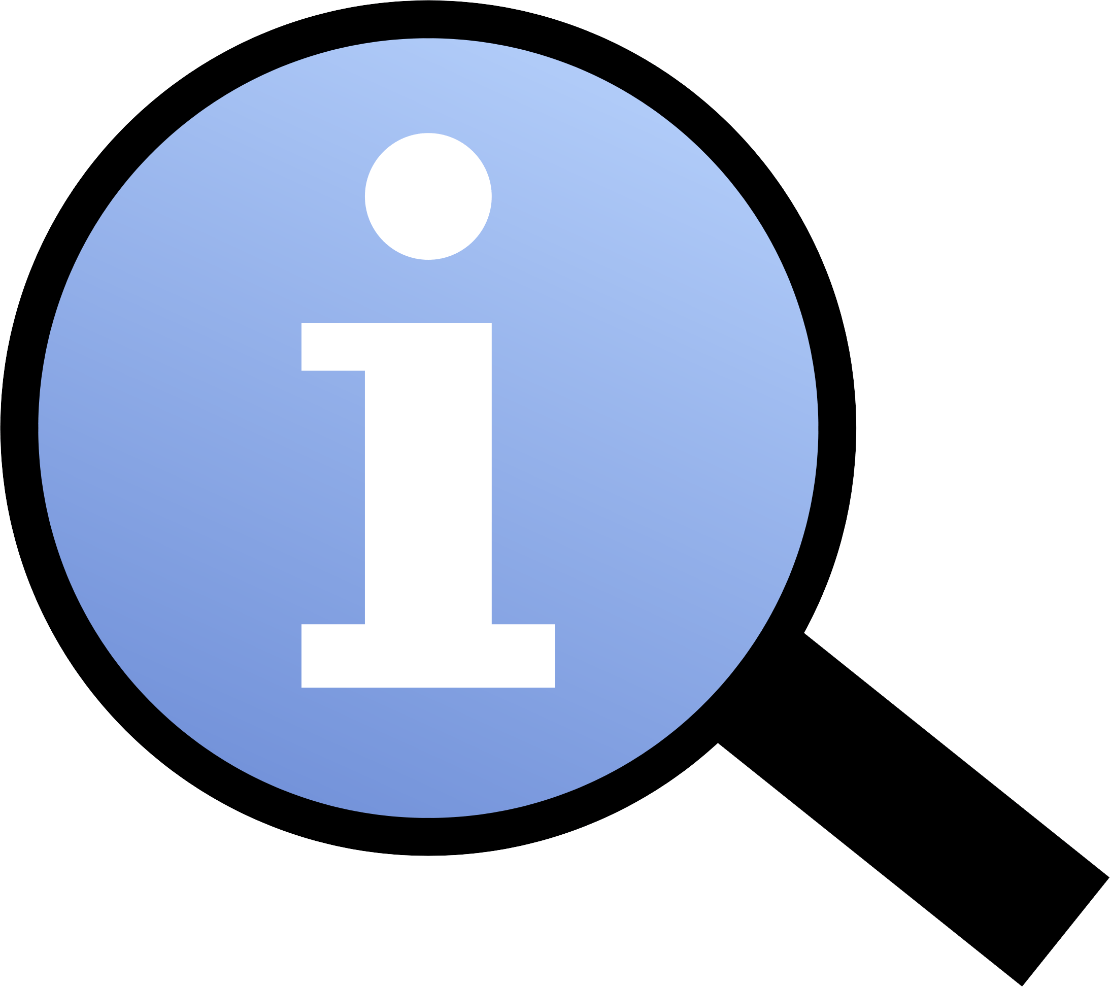 file information magnifier icon png