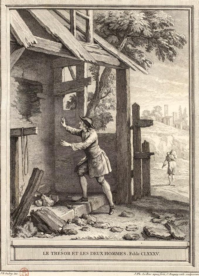 Le Trésor Et Les Deux Hommes : trésor, hommes, File:Le, Bas-Baquoy-Oudry-La, Fontaine-Le, Trésor, Hommes.jpg, Wikimedia, Commons
