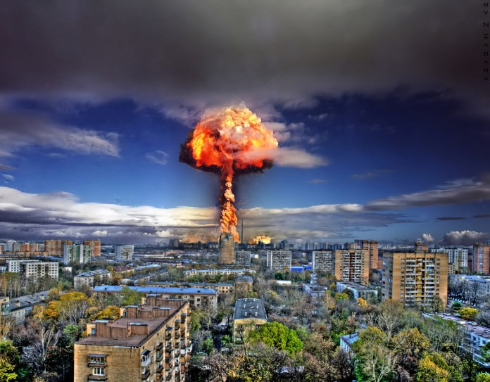 Image result for climate emergency and nuclear war