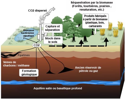 Puits de carbone:  une technologie qui aurait pu être prète pas mal plus tôt...