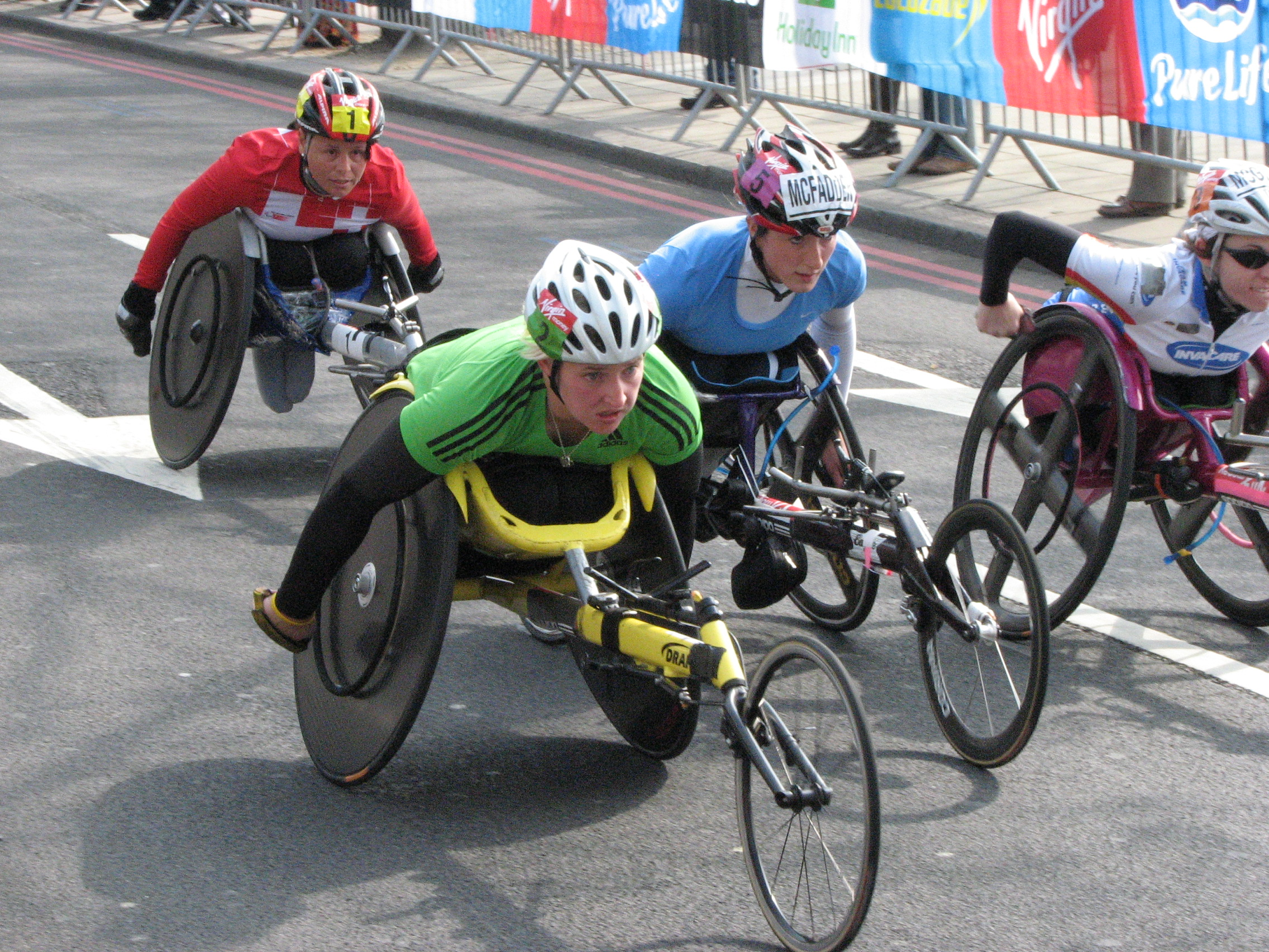 wheelchair marathon fishing chair makers file women 39s london 2011 jpg