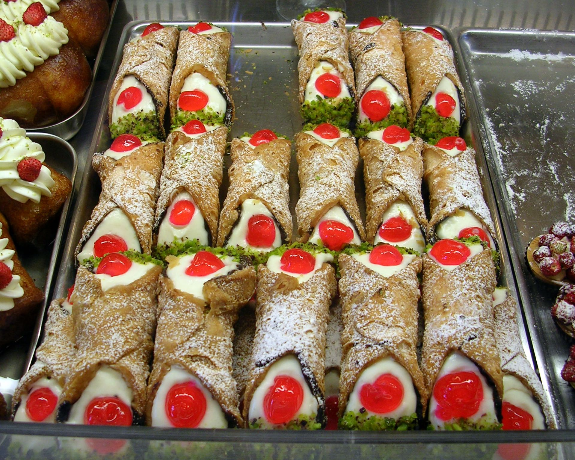 Cucina Siciliana File Cannoli Siciliani Jpg Wikipedia
