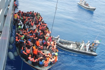 Image result for illegal immigrants mediterranean sea