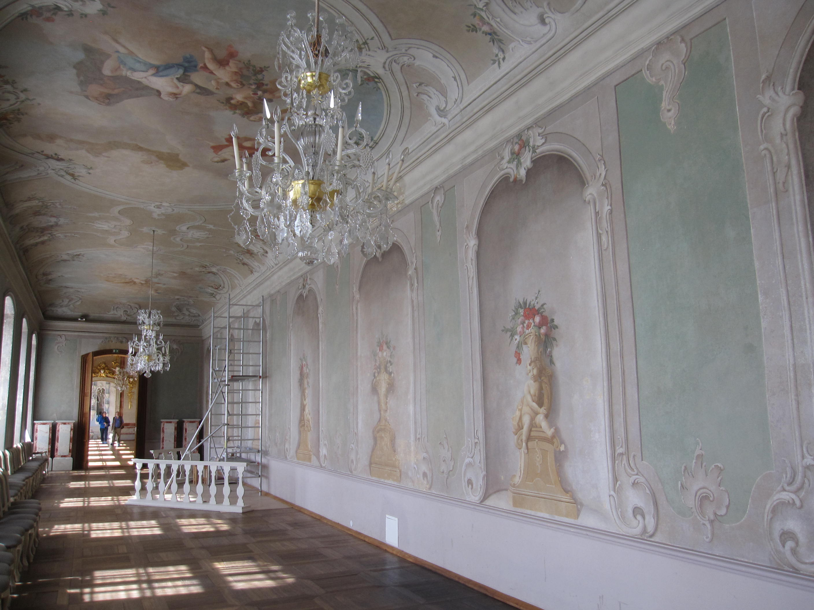 FileRundale palace interior decorated wallsjpg