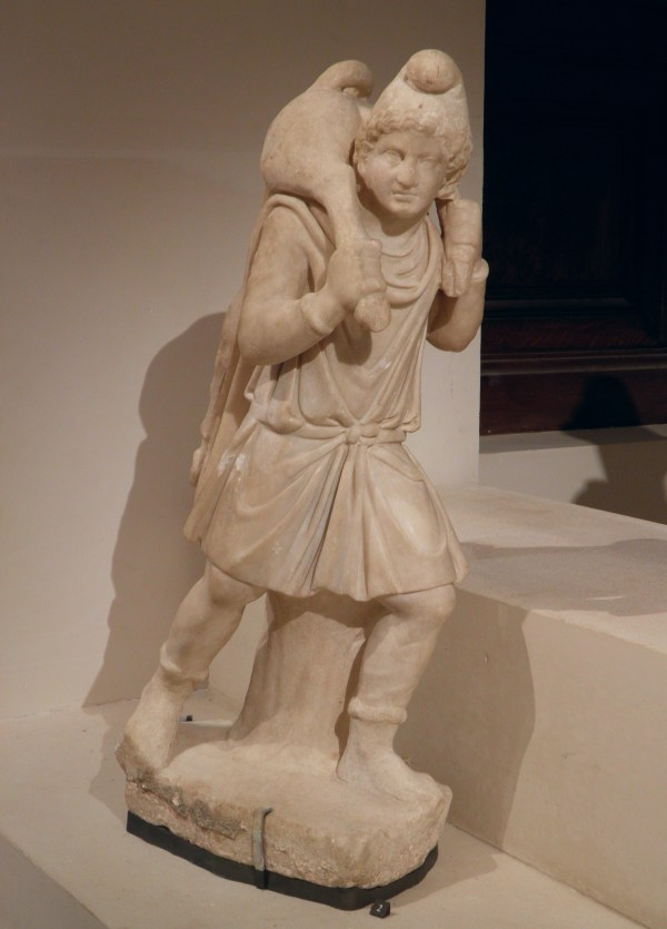 File Statue Of Parian Marble Depicting Mithras In Short