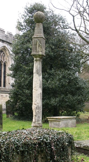 File:Sundial in Bolton Percy churchyard - geograph.org.uk - 716125