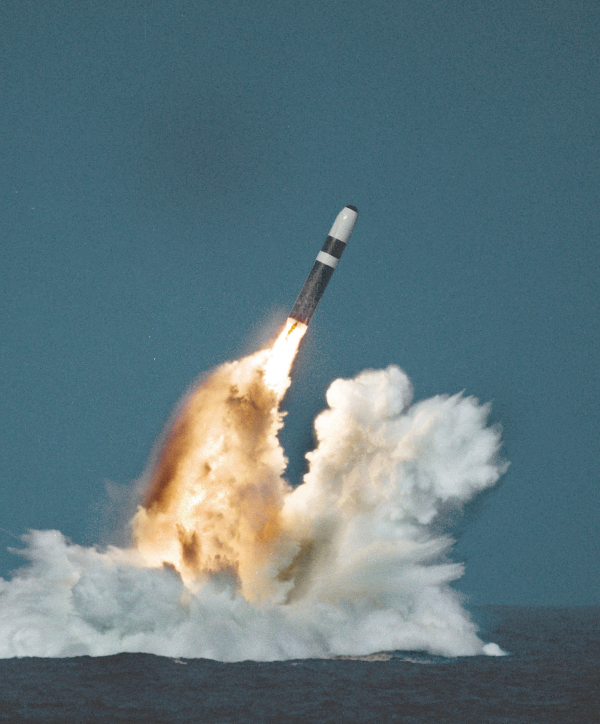 hight resolution of ugm 133 trident ii
