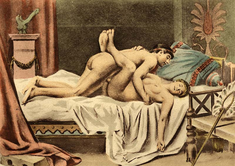 Painting by Édouard-Henri Avril.