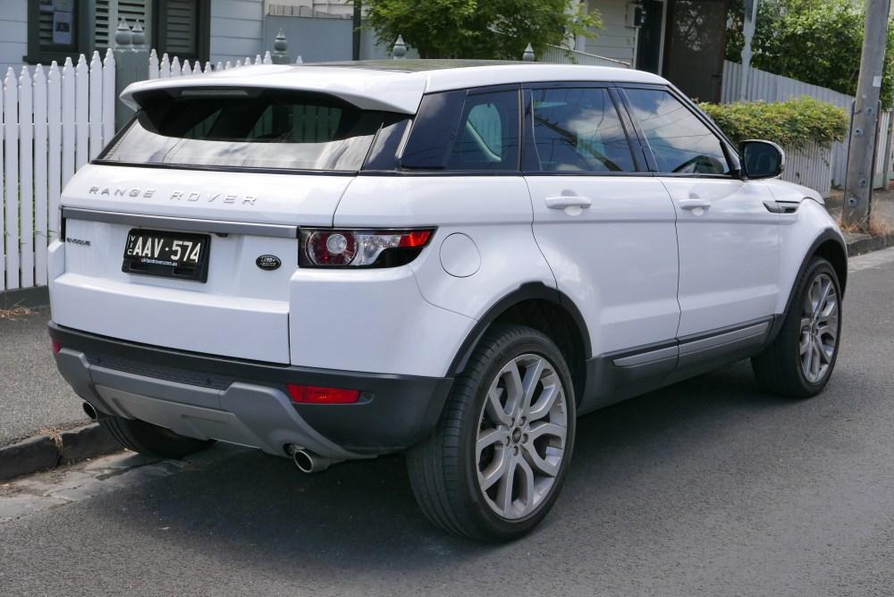 medium resolution of range rover evoque five door
