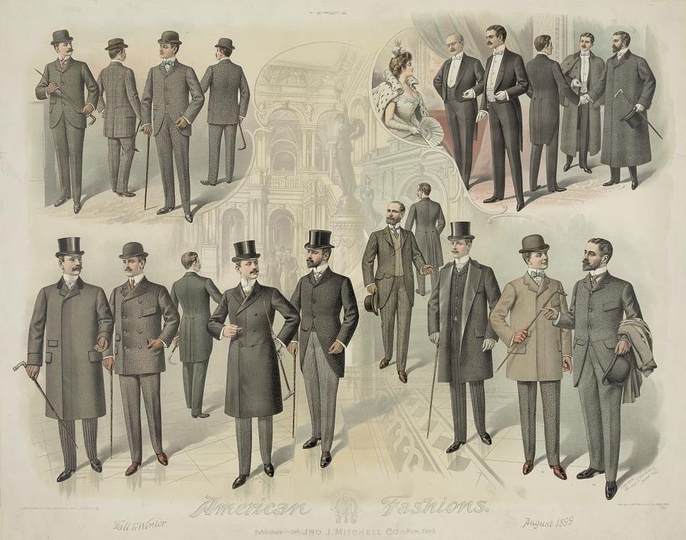 American fashions 1899 American Fashion