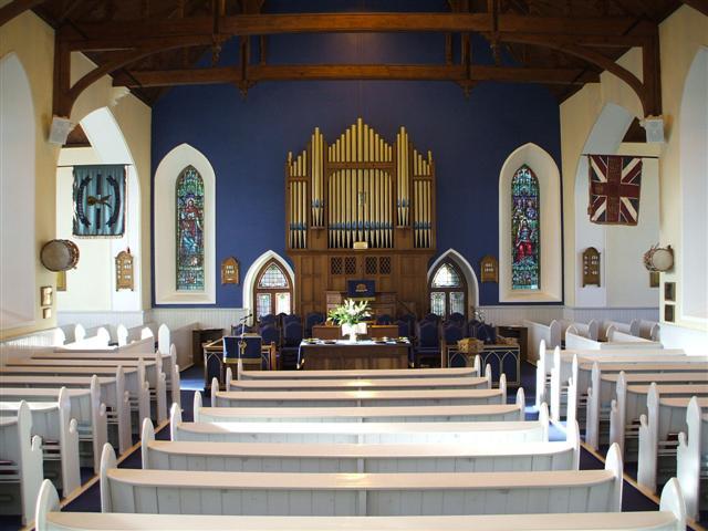 FileInterior Of Trinity Presbyterian Church Omagh