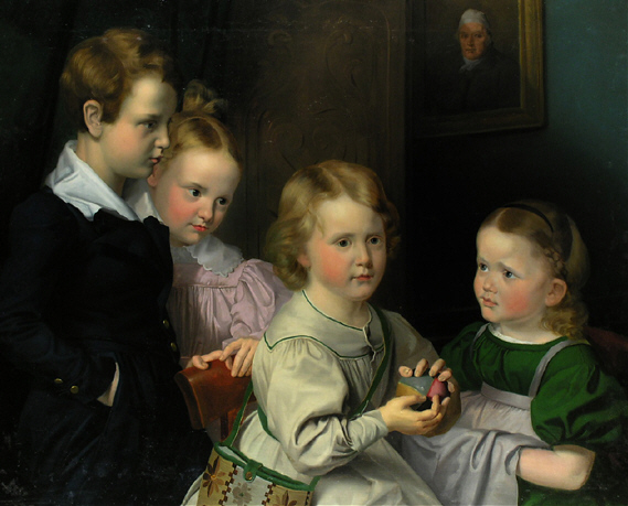 emKinder der Familie Simrock/em Karl Joseph Begas