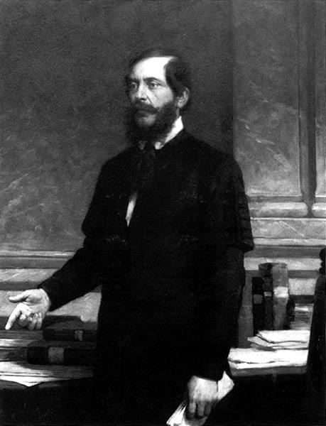 Photo of Lajos Kossuth (1802 -1891)