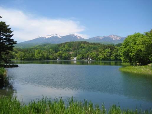 Your Name (kimi no na wa) Locations: The Lake Matsubara