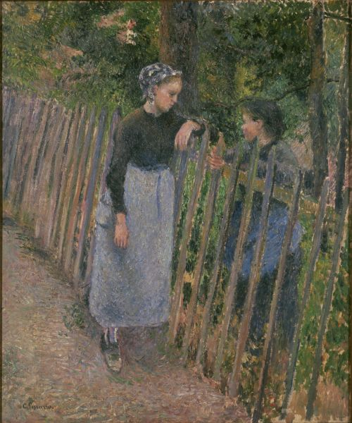 File:Pissarro Conversation.jpg
