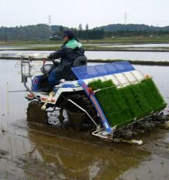 rice transplanter [ 1600 x 1200 Pixel ]