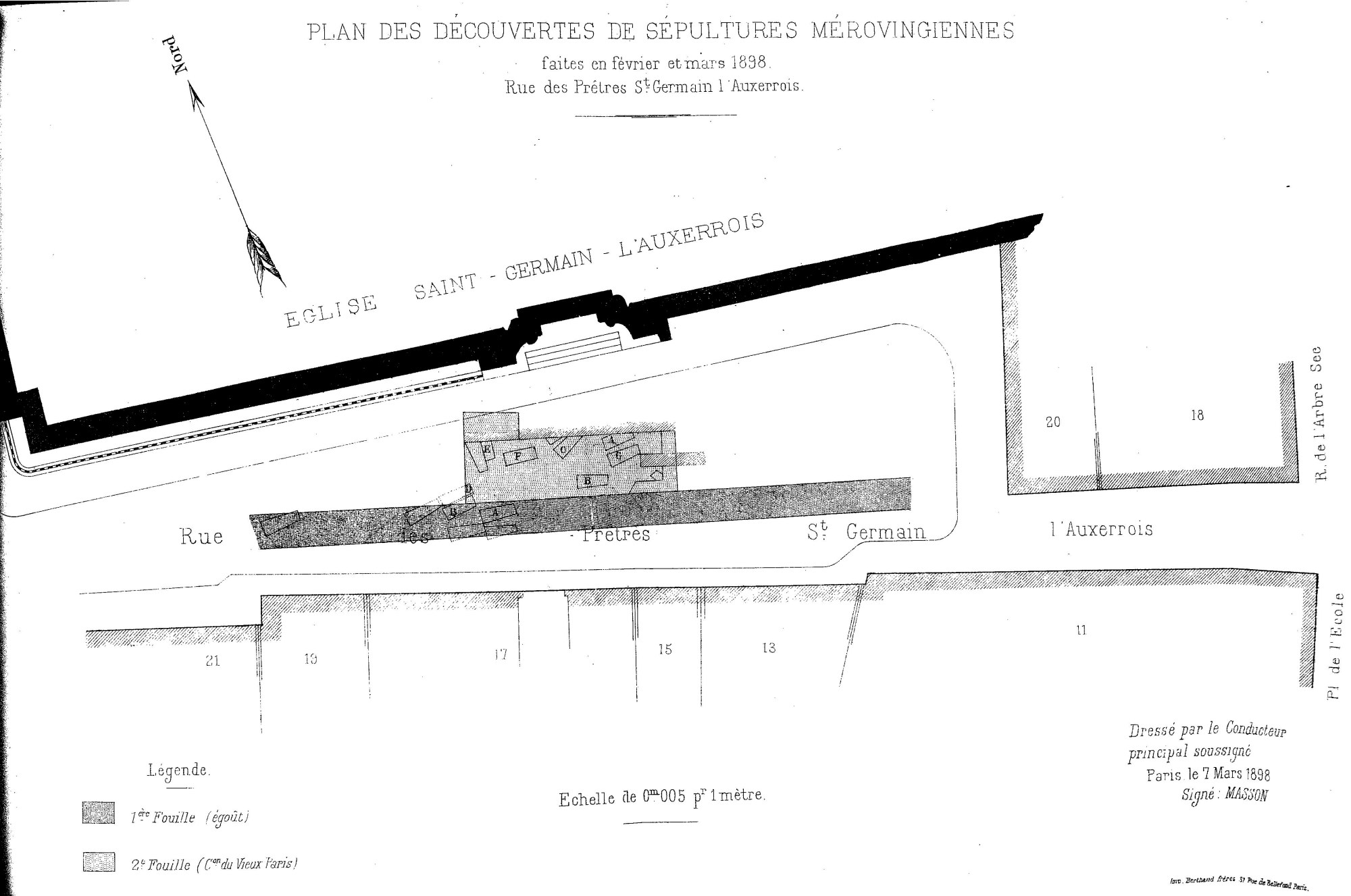 hight resolution of file cmvp 1898 3 p35 plan st germain auxerrois s pultures m rovingiennes jpg