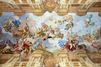 File:Ceiling painting of the Marble Hall - Melk Abbey ...