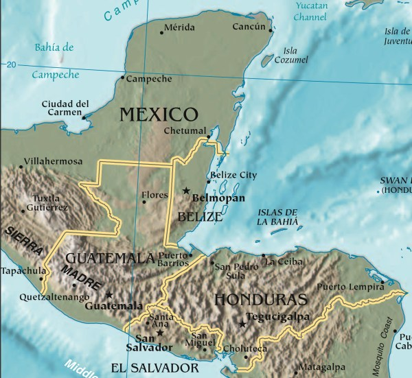 Mountains of Central America