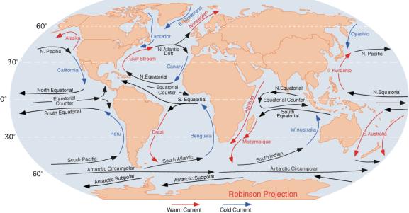 gulf stream sıcak su akıntısı ile ilgili bilgiler