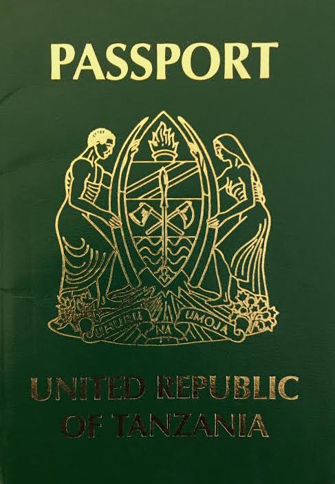 Tanzanian passport  Wikipedia