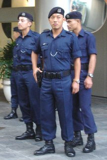 Blue Security Police Beret - Year of Clean Water
