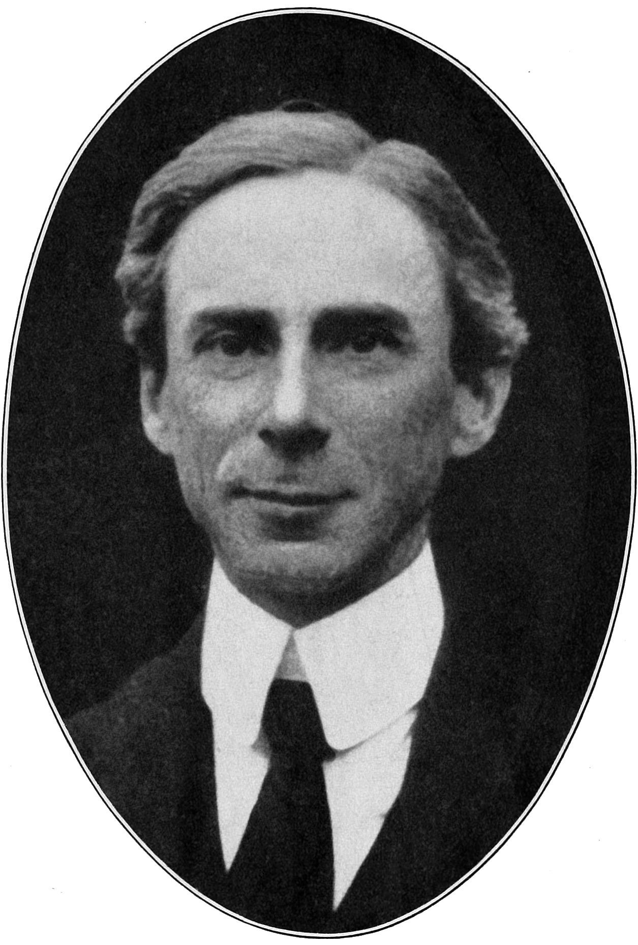 Bertrand Russell portrait