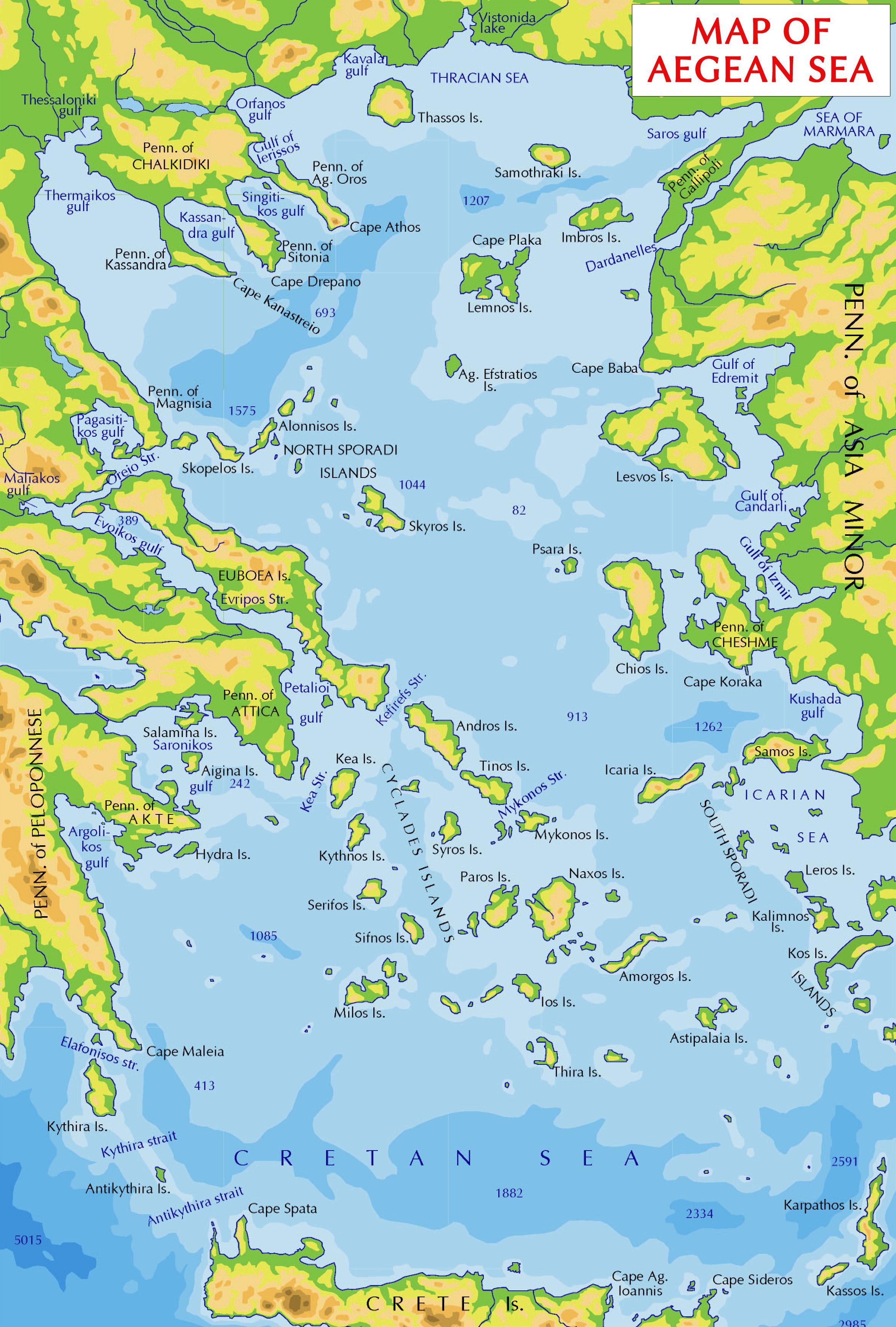 Aegean Sea On World Map : aegean, world, Icarian, Wikipedia