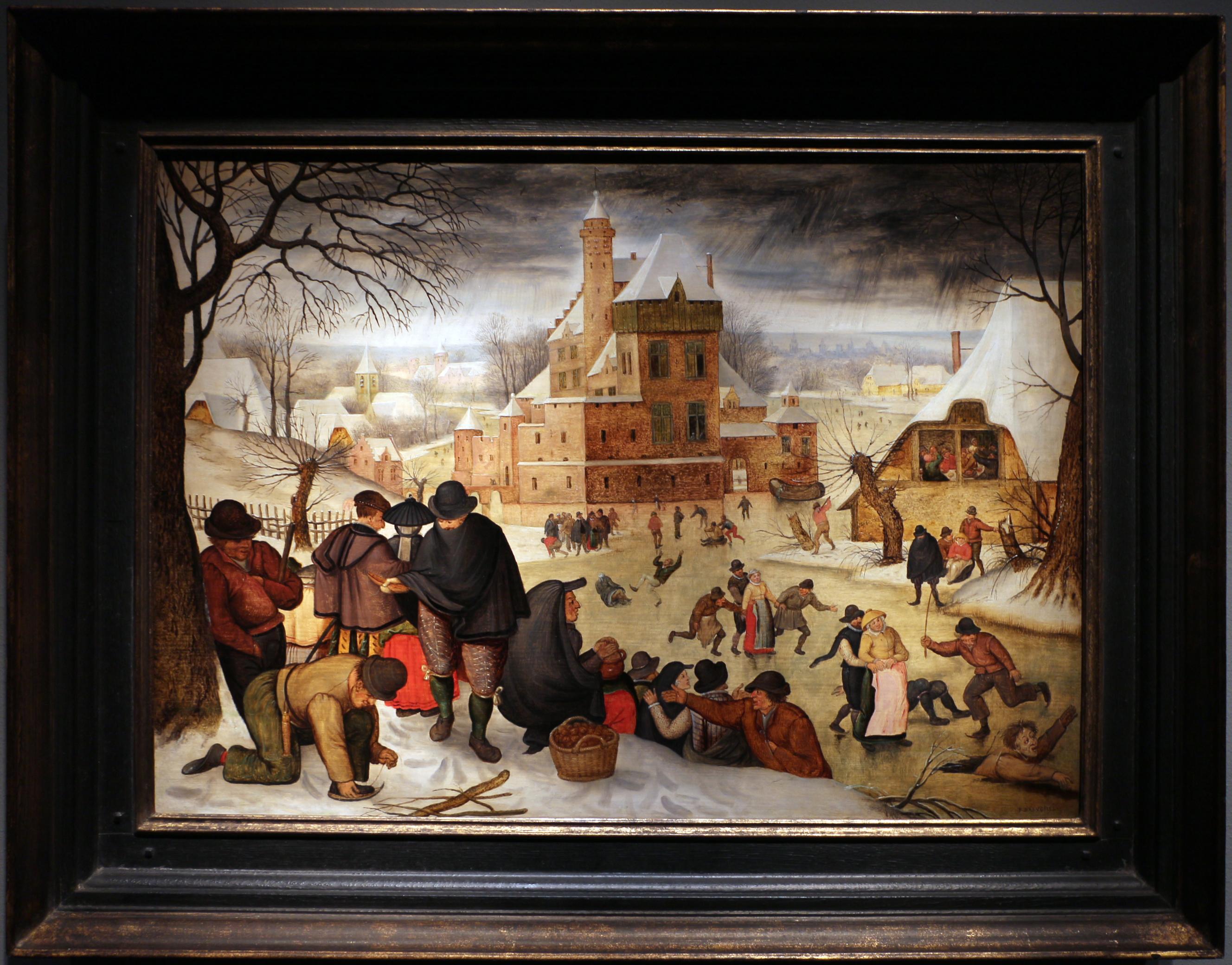 FilePieter bruegel il giovane paesaggio invernale con pattinatoriJPG  Wikimedia Commons