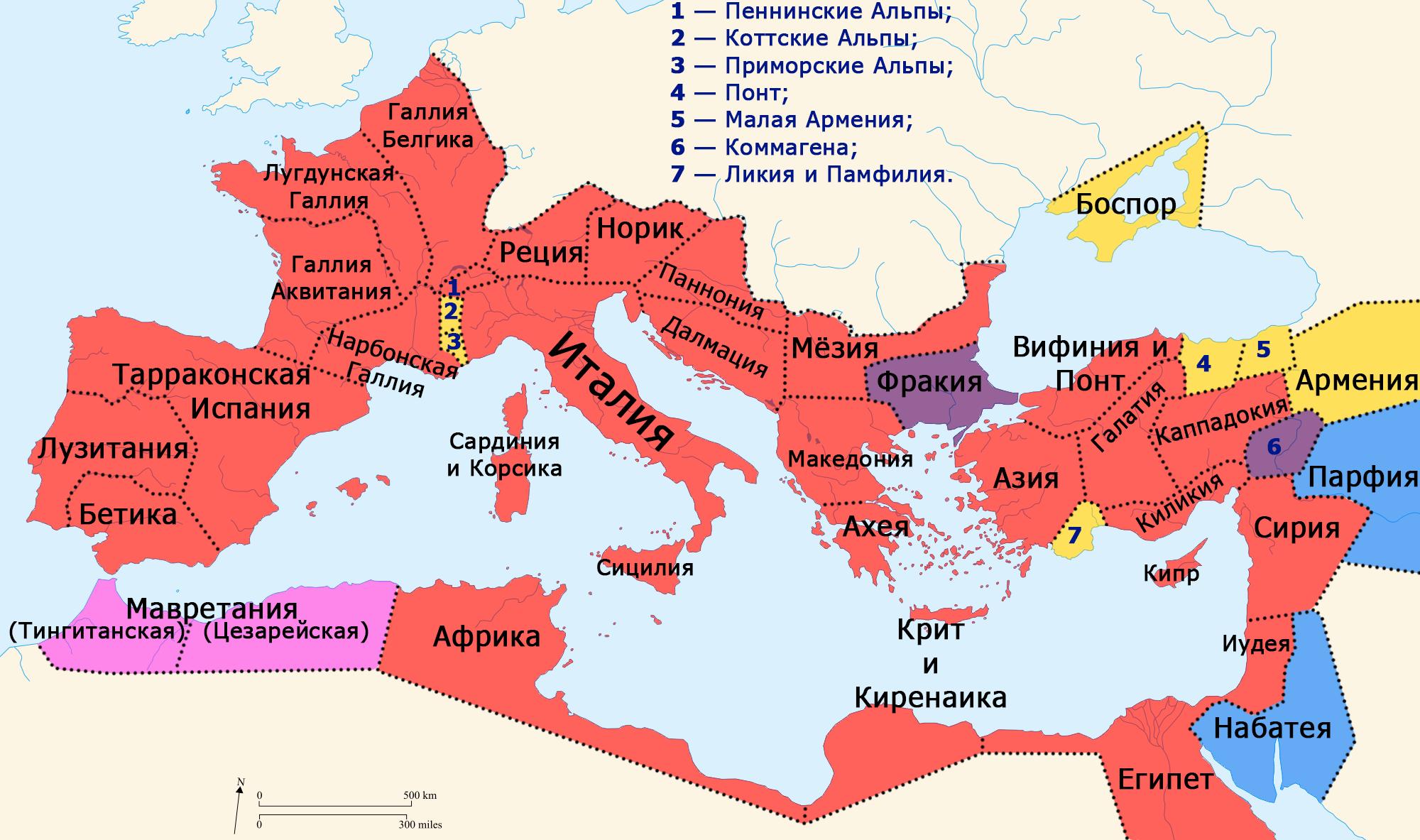 Roman Empire 37 41 Ad Provinces Ru