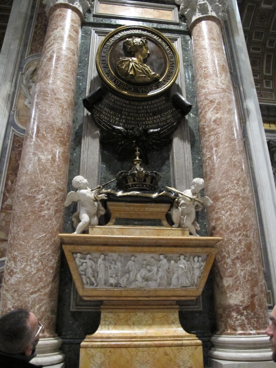 Bildresultat för drottning kristina san pietro