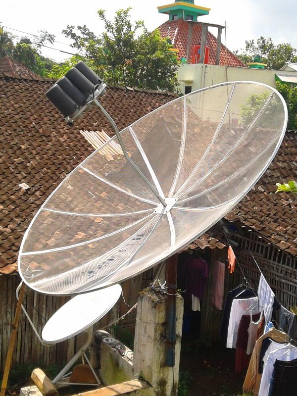 Antena parabola  Wikipedia bahasa Indonesia ensiklopedia