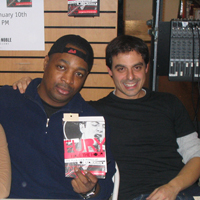English: Chuck D and Antonino D'Ambrosio at st...