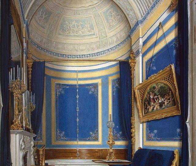 Filehau Interiors Of The Winter Palace The Bathroom Of Grand Princess Maria