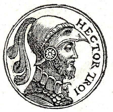 English: Hectōr (Ἕκτωρ), or Hektōr, is a Troja...