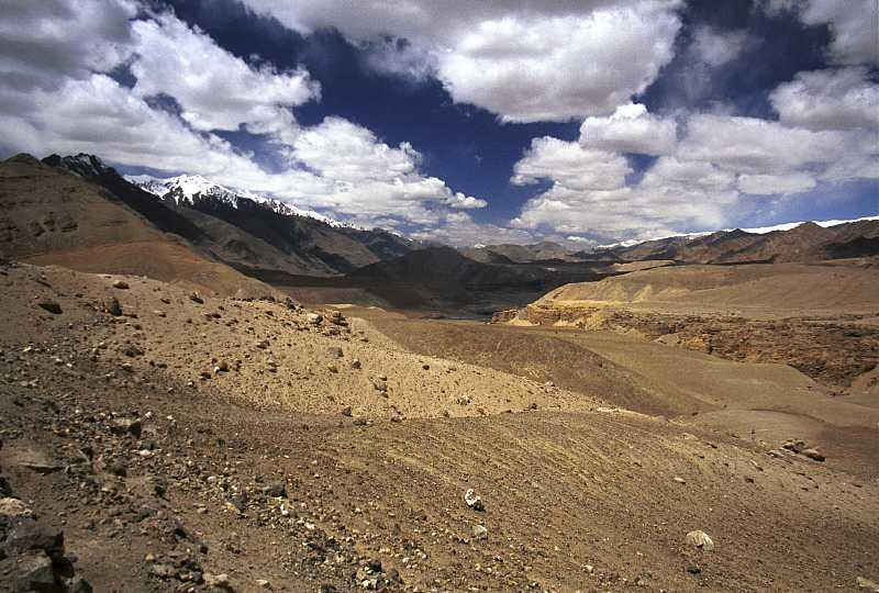 Krajobraz Ladakhu, indyjskiej części historycznego Tybetu.